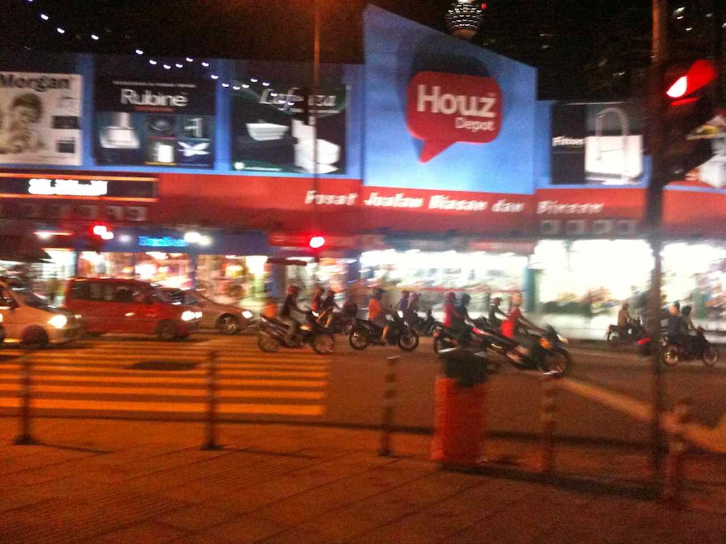 Scooters in Kuala Lumpur
