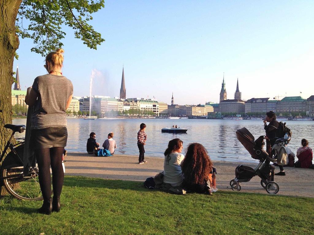 Hamburg-Bucket-List: Binnenalster