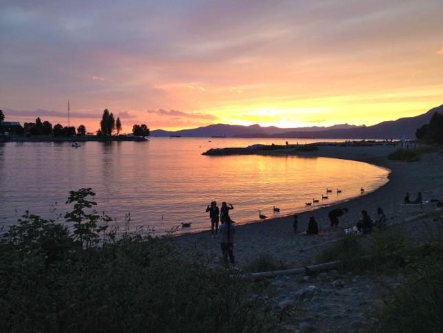 Sunset Beach Vancouver
