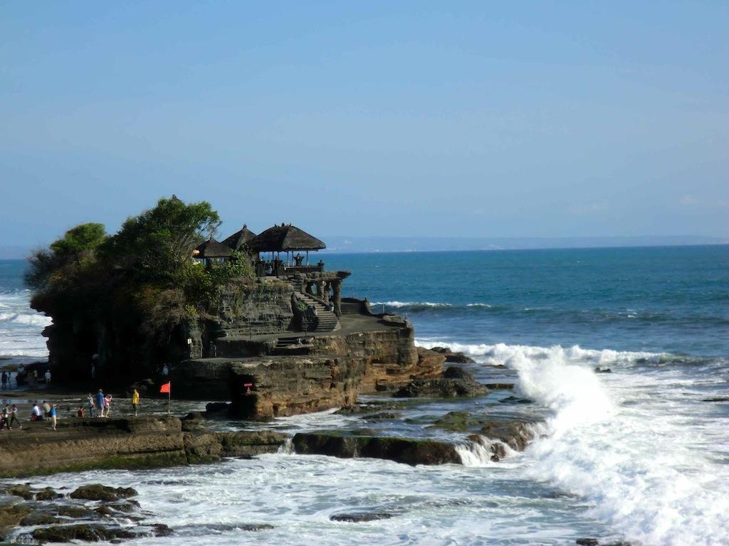 Allein reisen Erfahrungen: Meerestempel Tanah Lot auf Bali