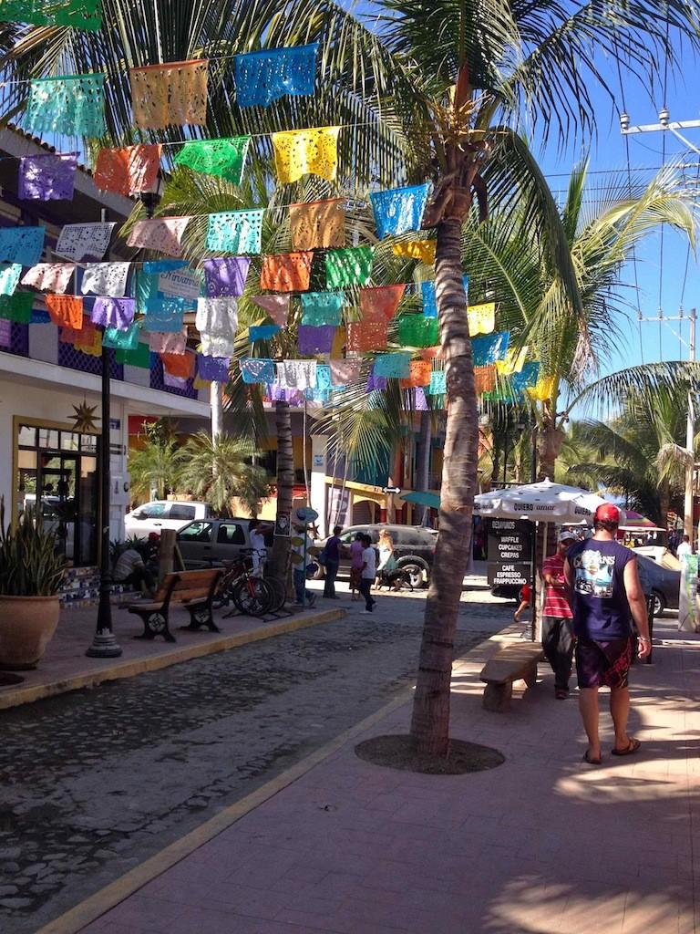 In Sayulita, Mexiko kann man Surfen lernen