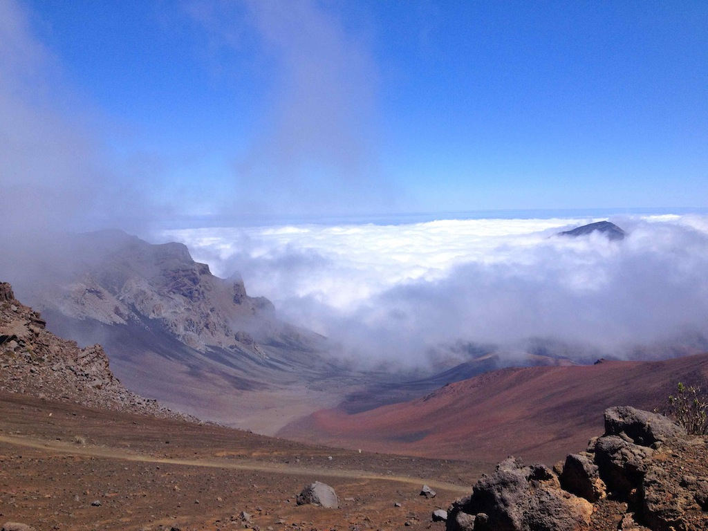 Sliding Sands Trail, Haleakala Krater, Maui Hawaii