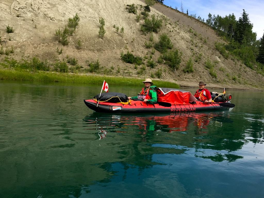 Yukon River: endlich unterwegs