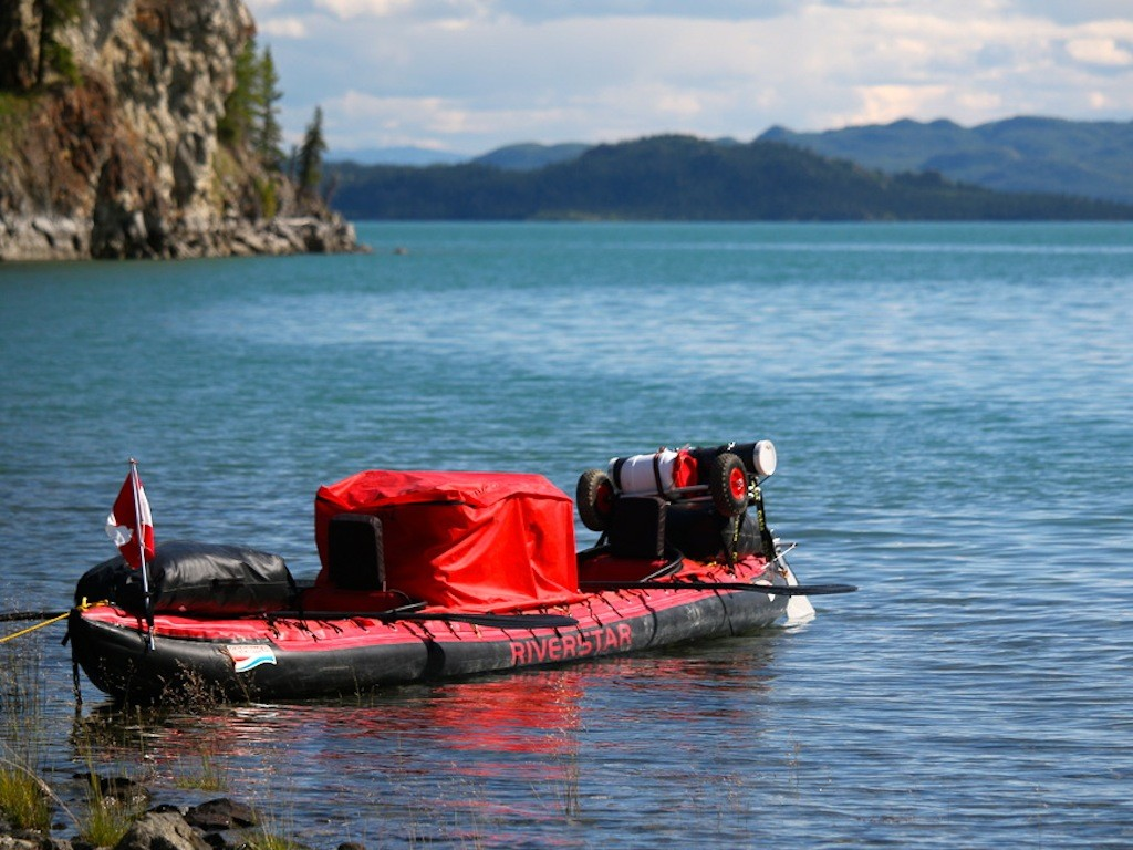 Yukon: Das Boot der beiden Abenteurer