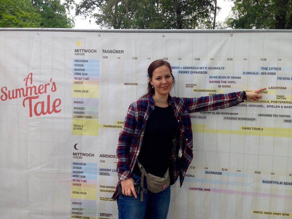 "Timetable beim ""A Summer's Tale""-Festival in der Lüneburger Heide"