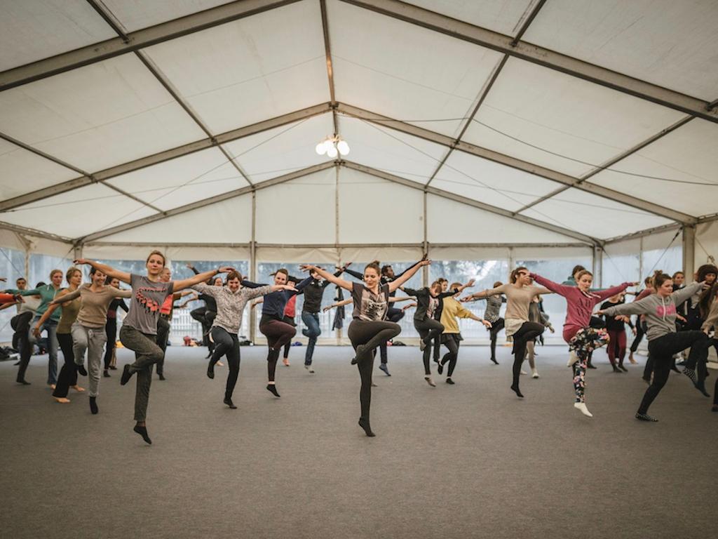 "Modern Dance Workshop beim ""A Summer's Tale""-Festival in der Lüneburger Heide"