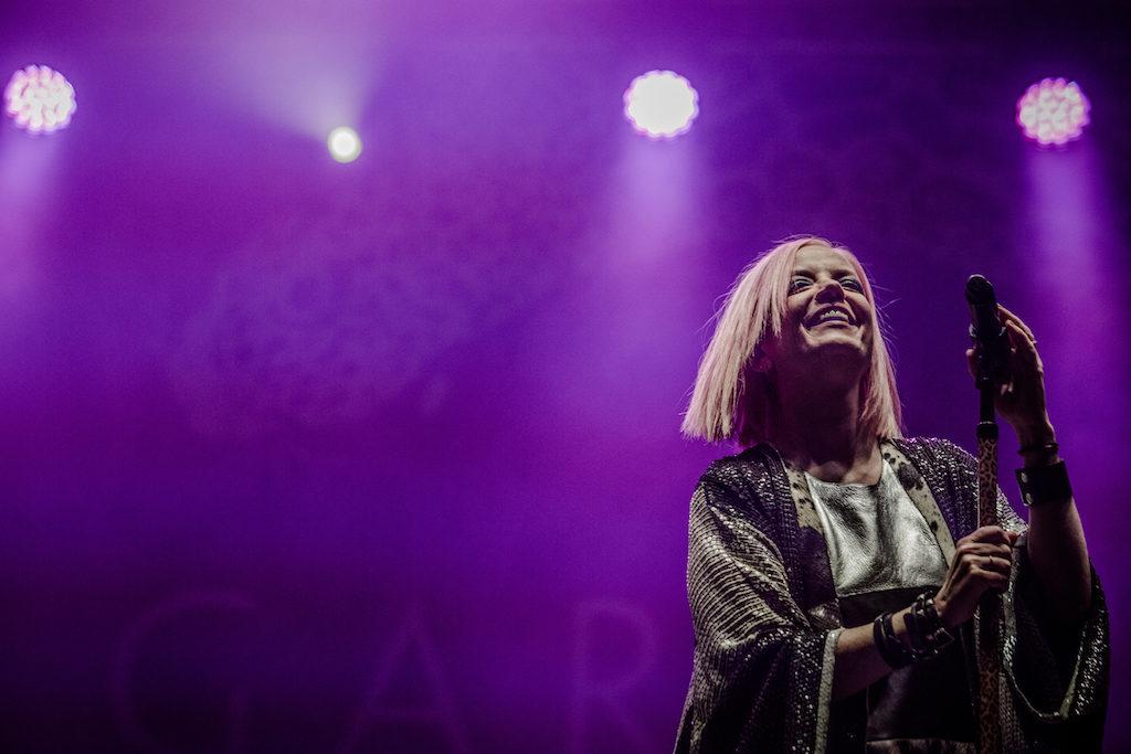 """Shirley Manson von Garbage beim """"A Summer's Tale""""-Festival in der Lüneburger Heide"""
