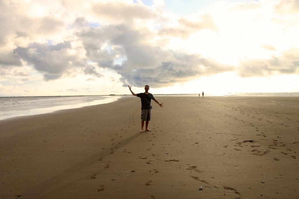 Auswandern nach Costa Rica: Marc im Marino Ballena Nationalpark