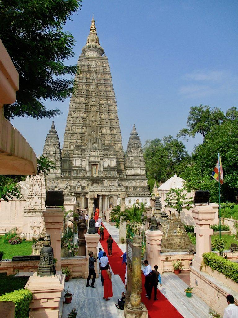 Buddhismus in Indien: Der Mahabodhi-Tempel in Bodhgaya