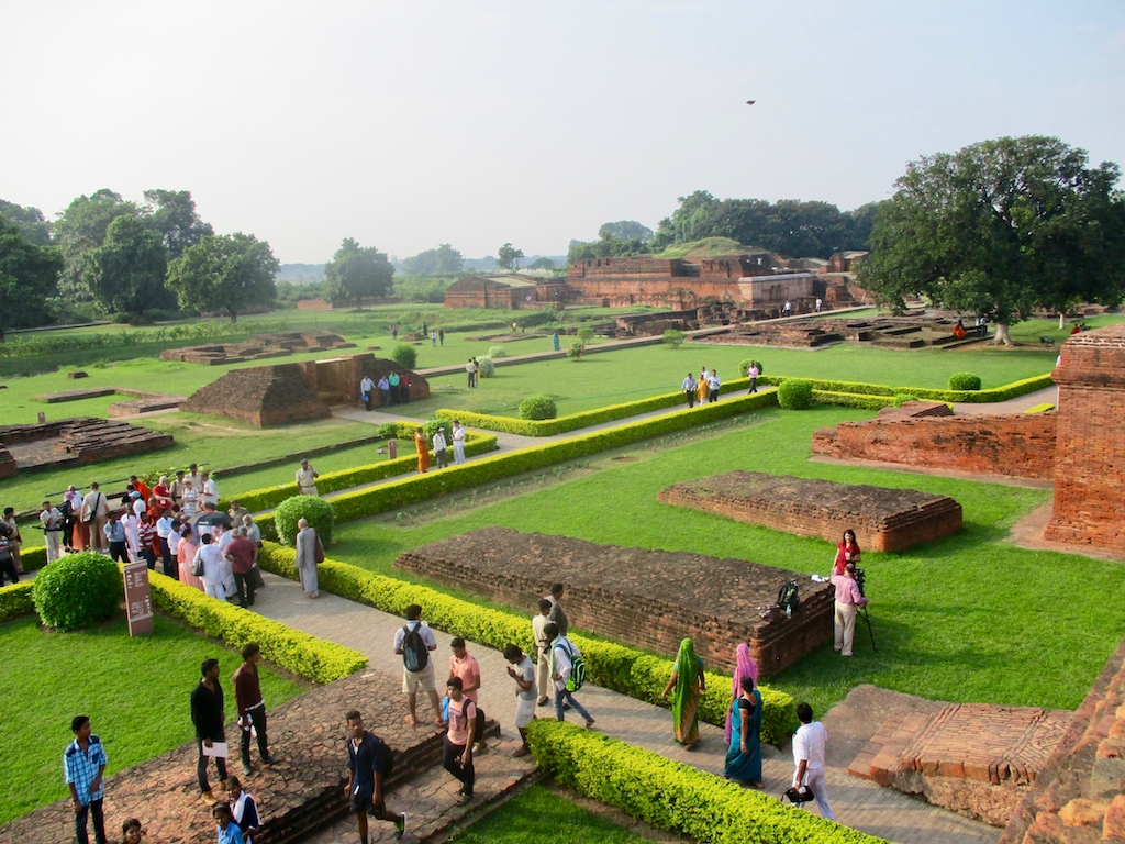 Die buddhistische Universität in Nalanda war das größte Lehrzentrum der Antike