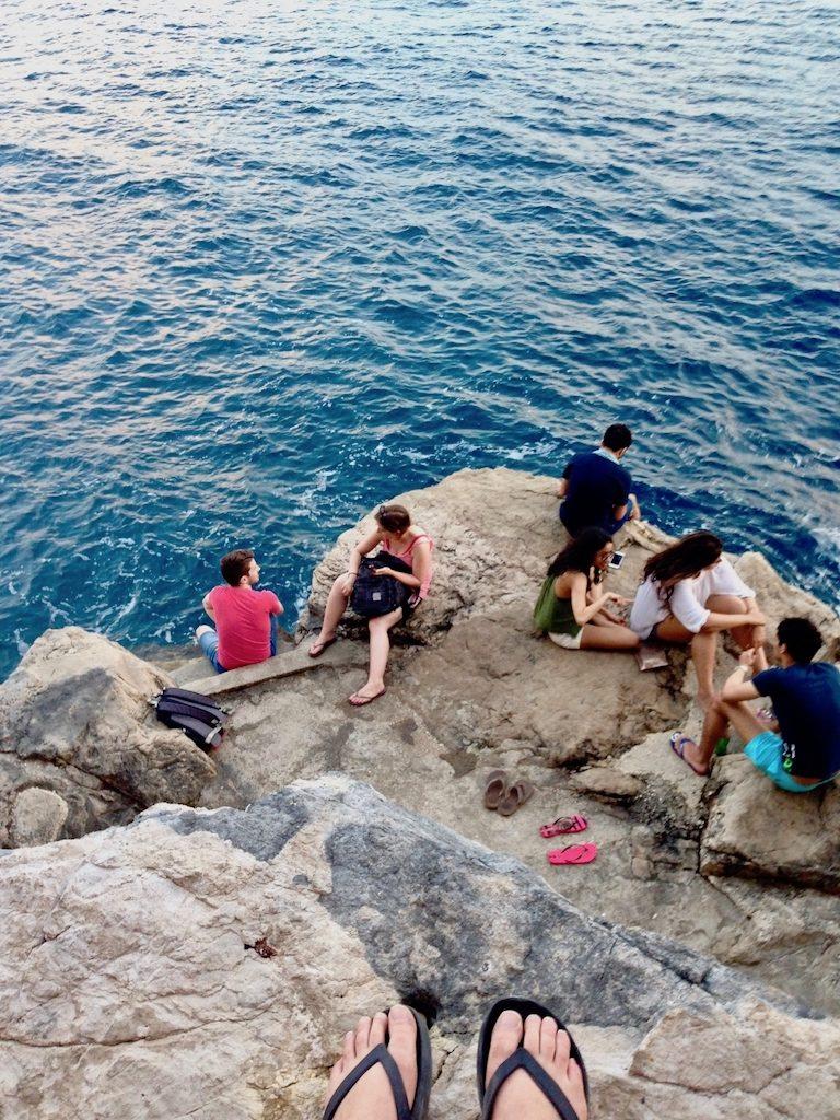 Wie viel Urlaub brauchen wir? Meer vor Dubrovnik