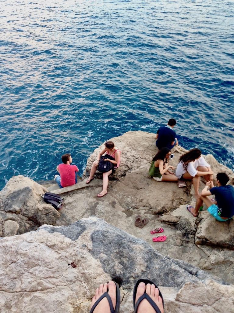 Erholung im Urlaub in Dubrovnik
