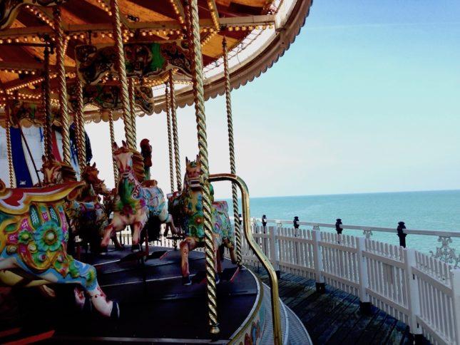 Karussell auf dem Brighton Pier