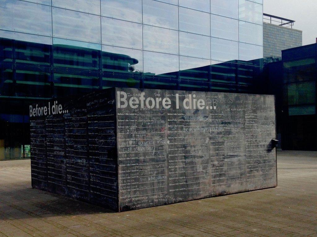 Überall ist Kunst in Brightons Zentrum