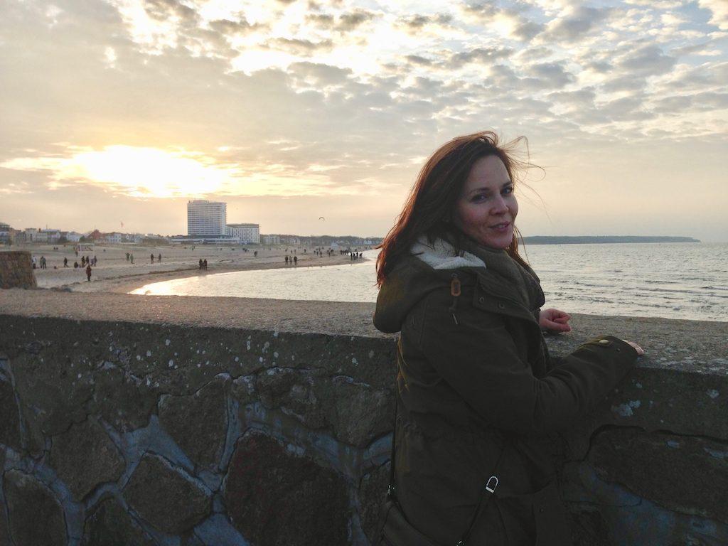 Tipps für Rostock, auf der Mole von Warnemünde