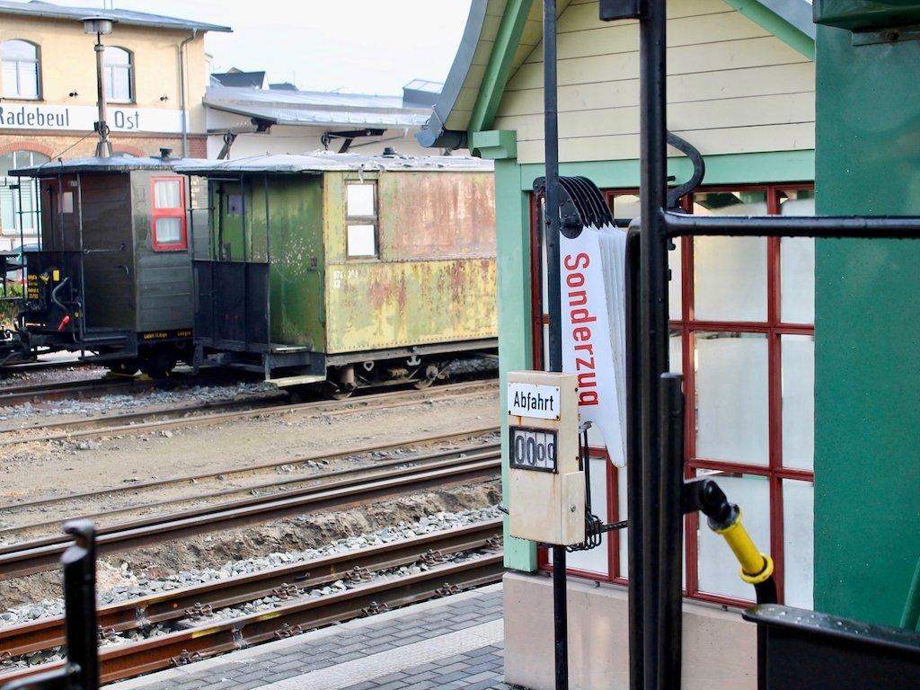 Schmallspurbahn Lößnitzdackel in Radebeul