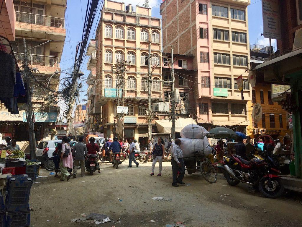 Sehenswürdigkeiten in Kathmandu sind auch die Kabel
