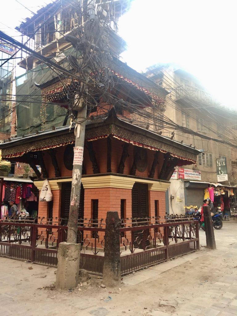 Sehenswürdigkeiten in Kathmandu: Mini-Tempel