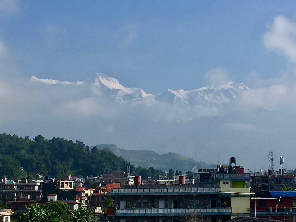 Sehenswürdigkeiten in Kathmandu und im Rest von Nepal: Himalaya-Blick