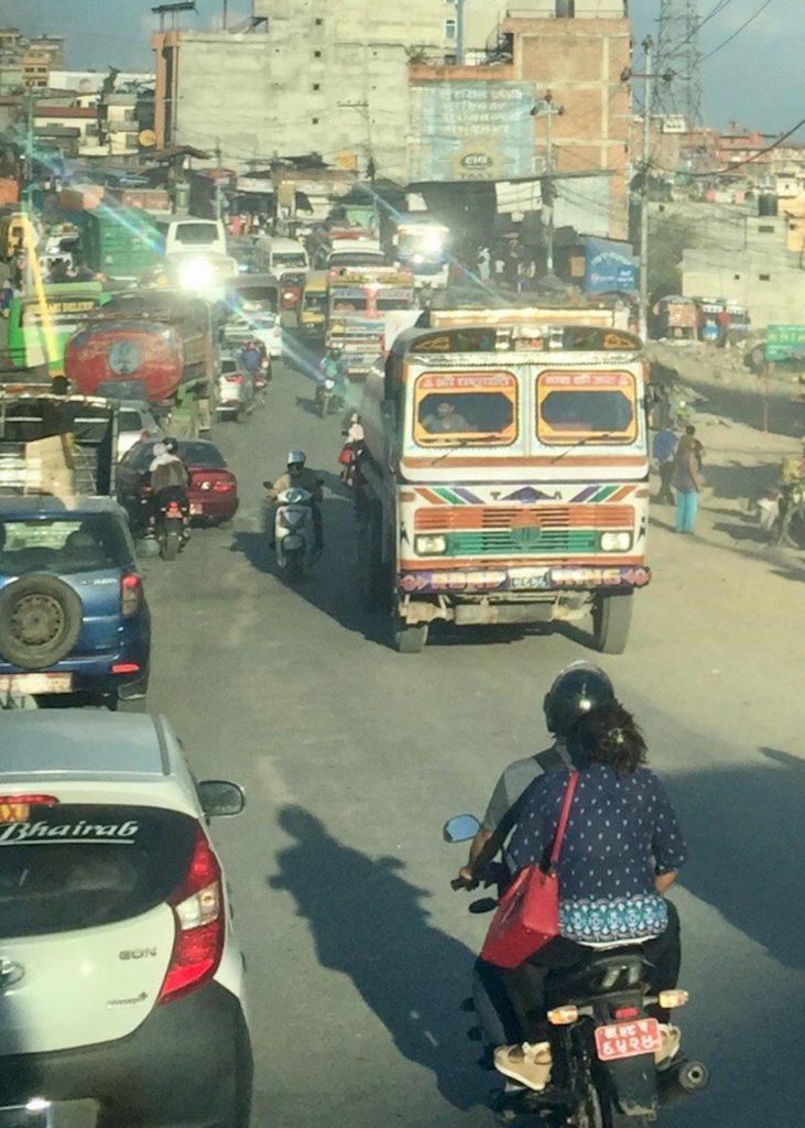Sehenswürdigkeiten in Kathmandu und anderes: Verkehr