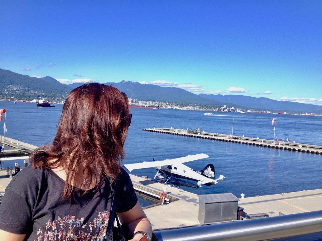 Wasserflugzeuge Hafen Vancouver