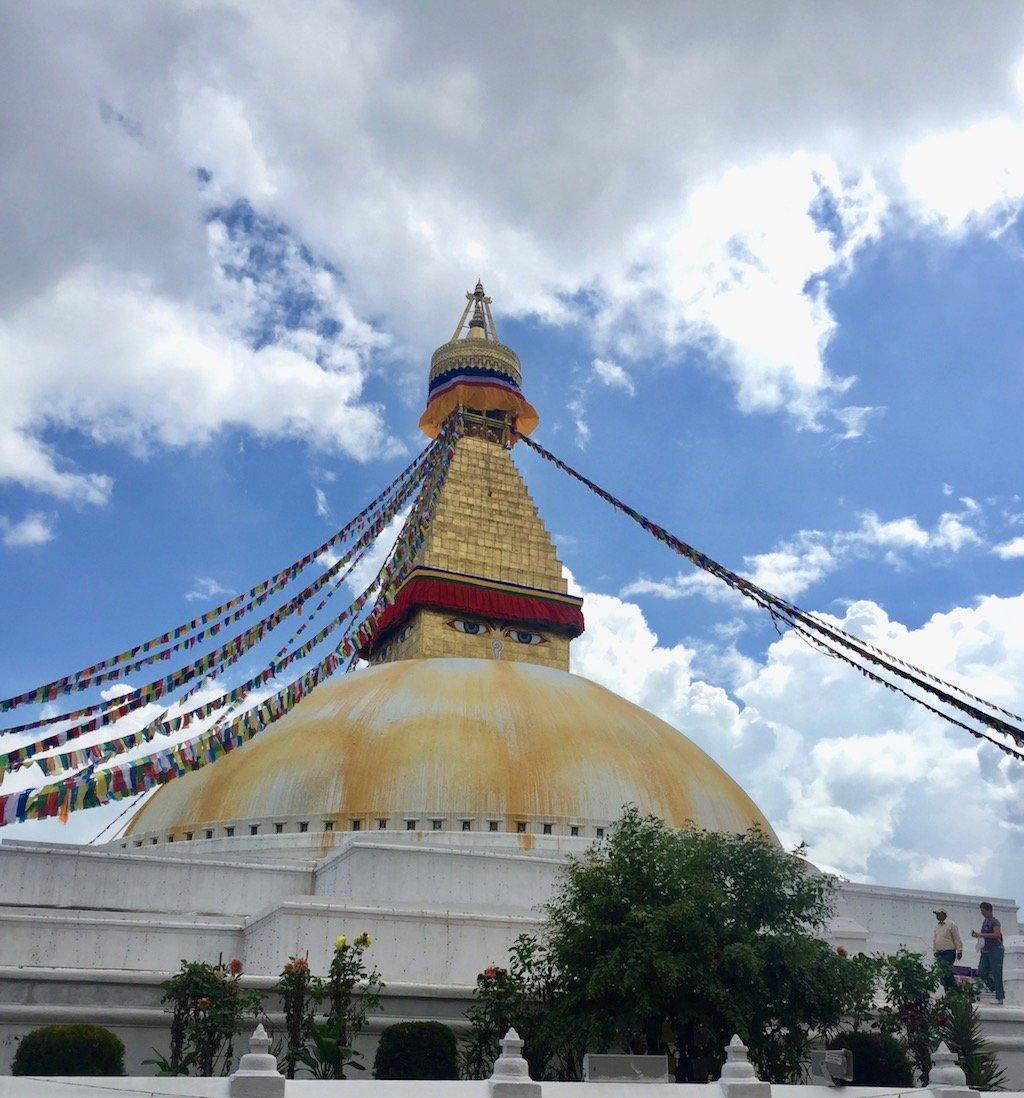 Erdbeben Nepal heute: Boudanath wurde restauriert