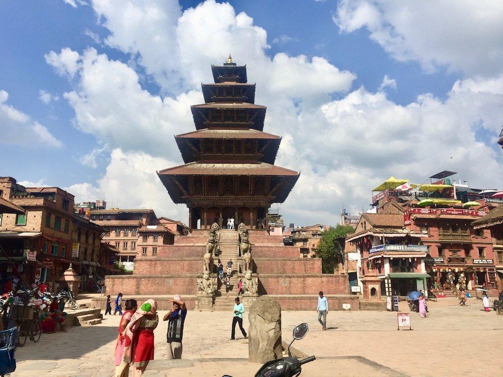 Nepal Erdbeben Aktuell Nyatapola