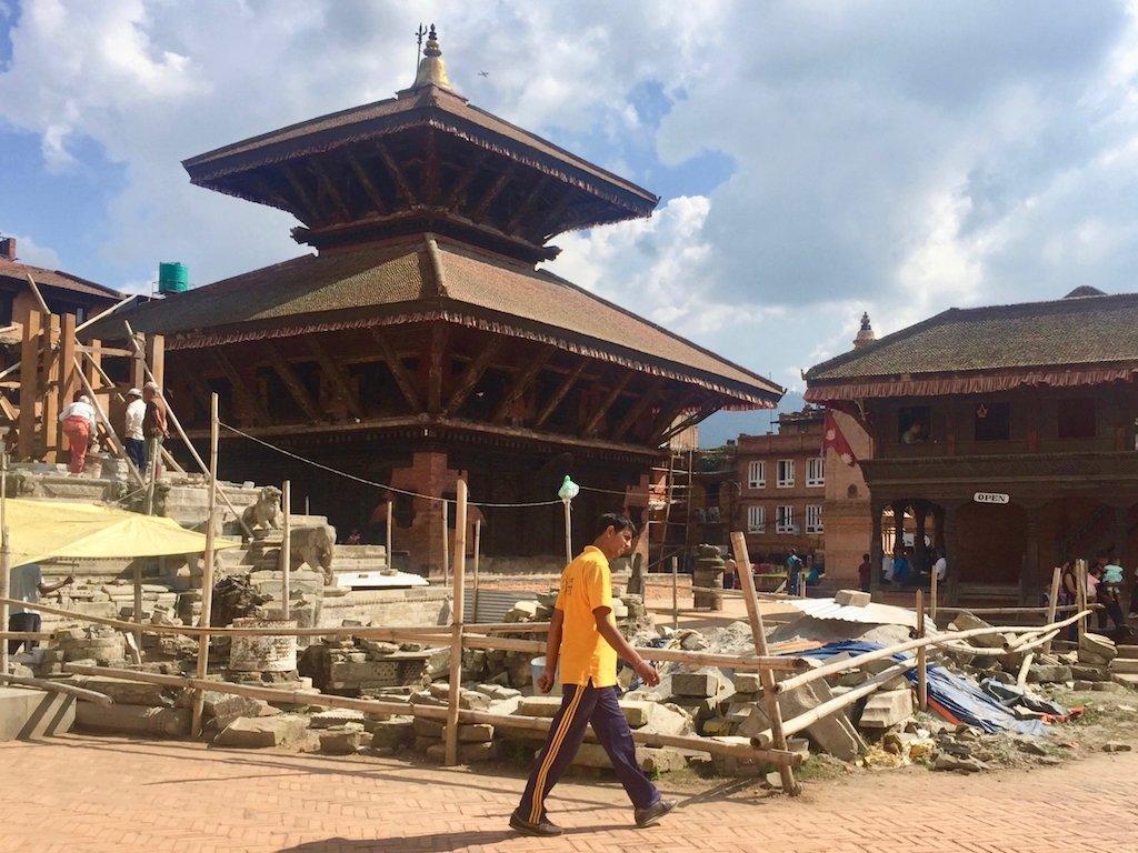 Nepal nach den Erdbeben: Bhaktapur 2017