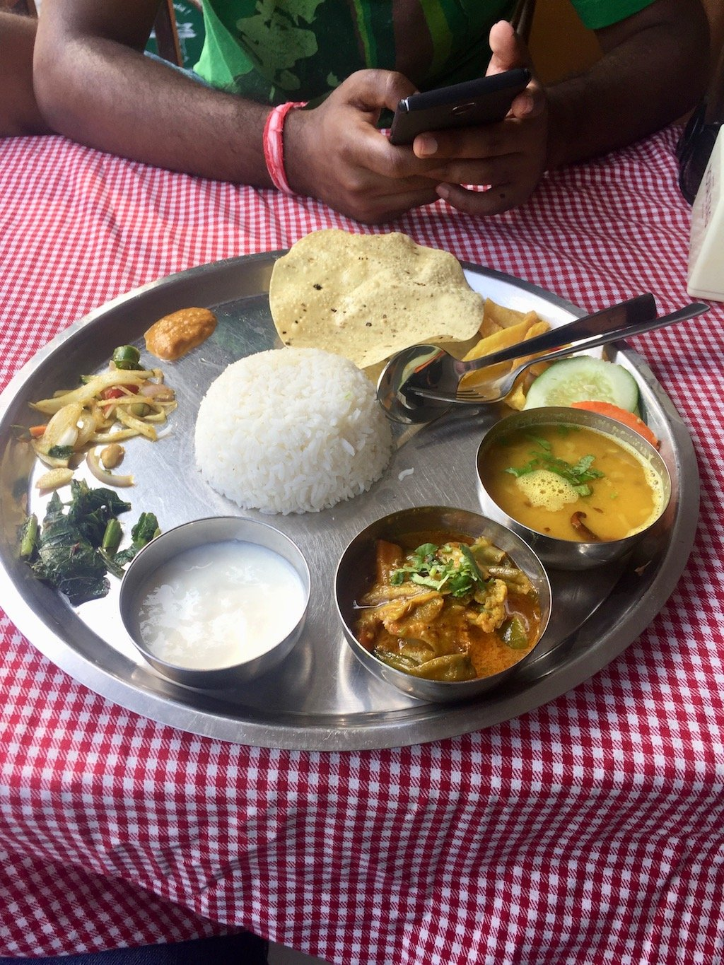 Dal Bhat in Pokhara