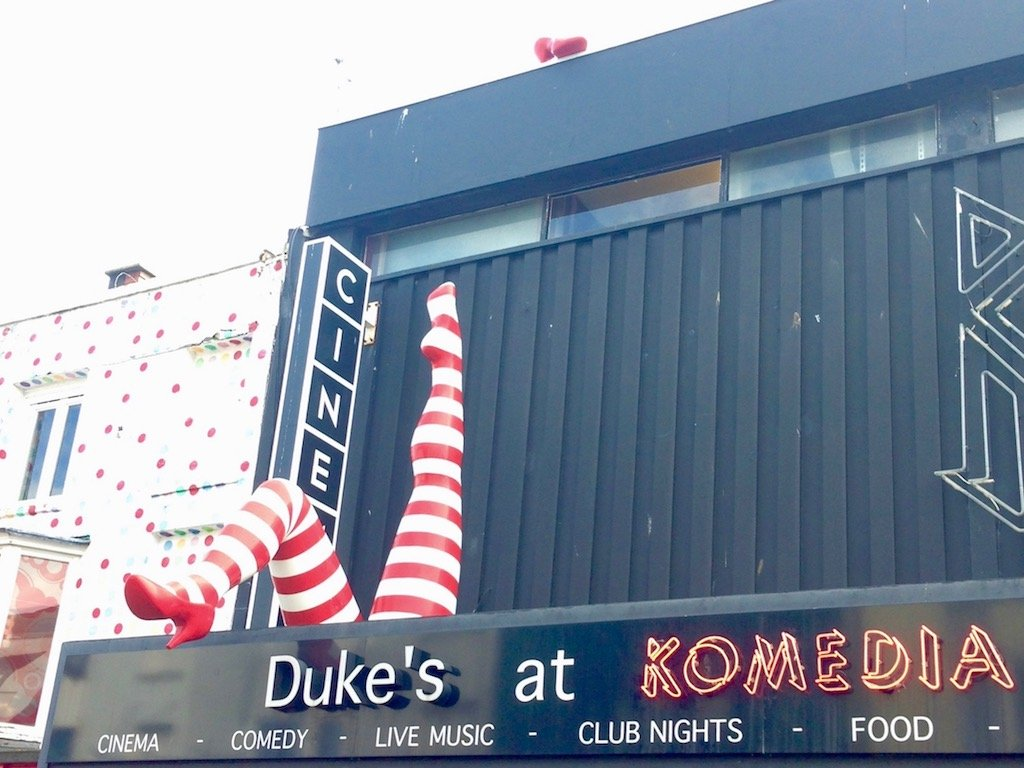 Sehenswürdigkeiten Brighton: Komedia