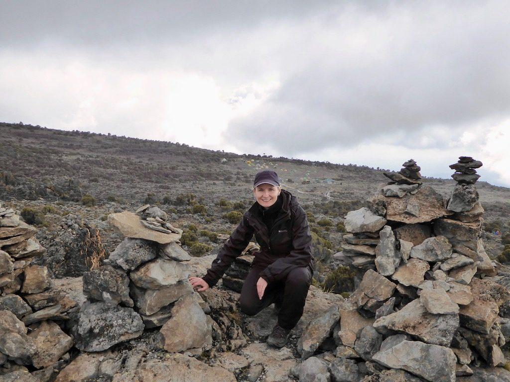 Kilimandscharo-Besteigung: Nichts als Geröll