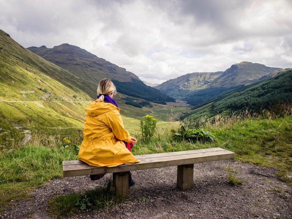 Leben in Schottland: Kathi auf der Isle of Arran