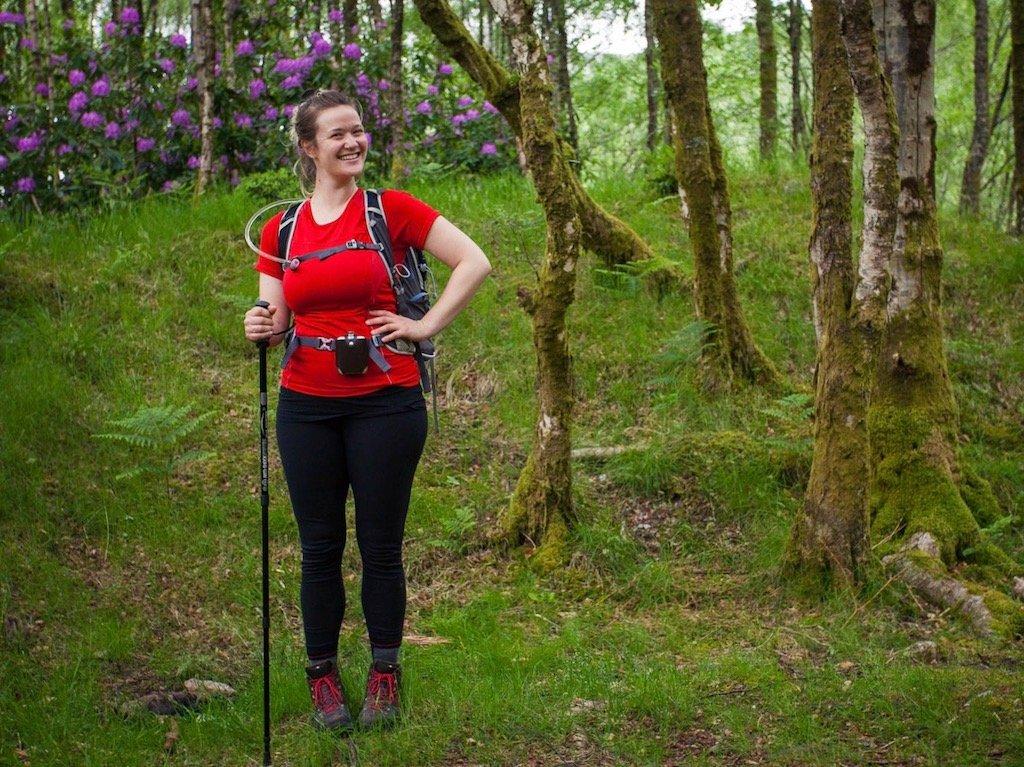 Leben in Schottland: Kathi hat hier mit dem Langstreckenwandern begonnen. Hier ist sie auf dem West Highland Way gewandert