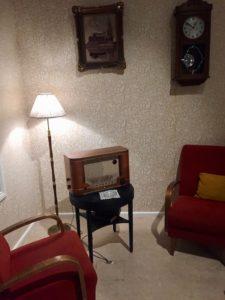 Helsinki bei Regen: 50er-Jahre-Wohnzimmer Im Helsinki City Museum