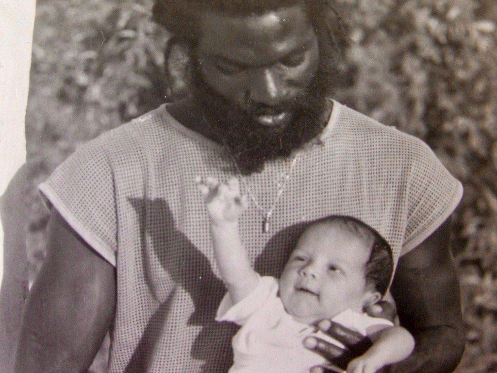 Leben in der Karibik: Coach mit Tochter Irina