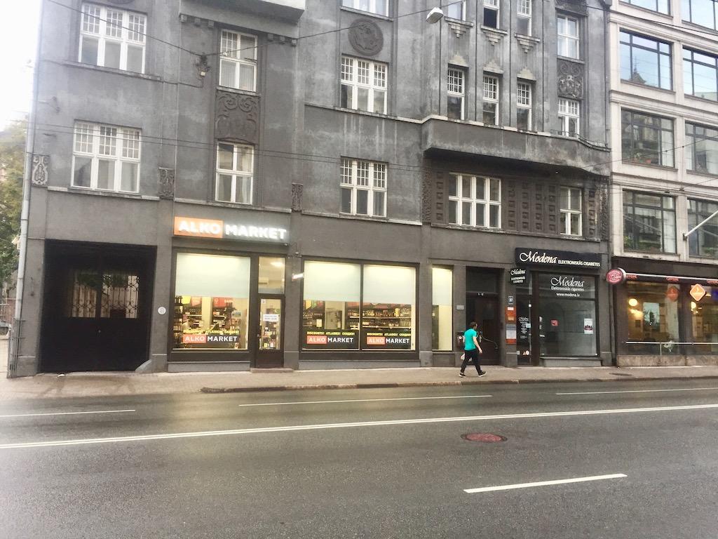 Unterwegs in der Brivibas iela
