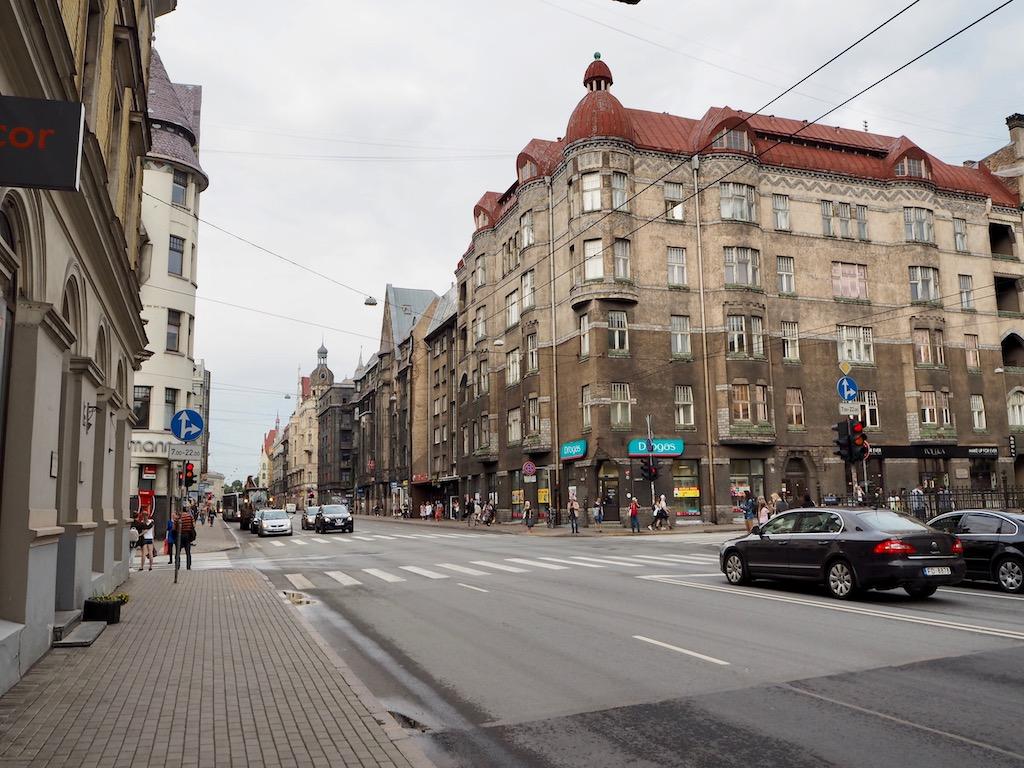 Brivibas iela in Riga