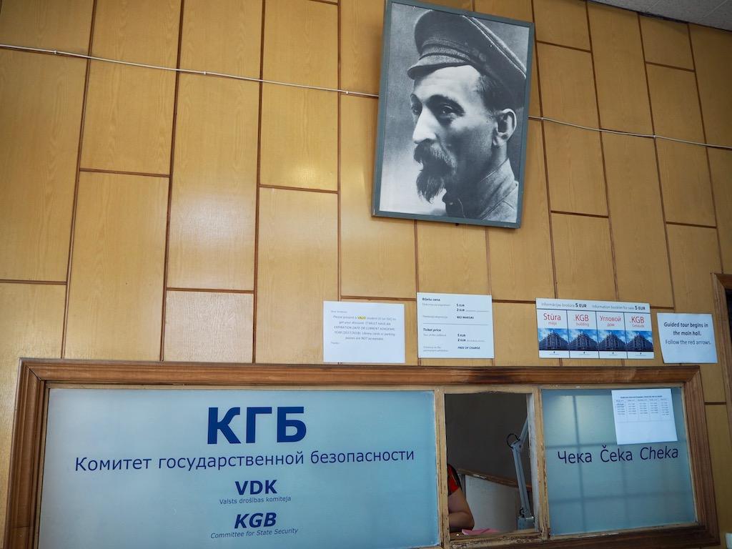 Riga Sehenswürdigkeiten: Das Eckhaus beherbergte die KBG-Hauptzentrale