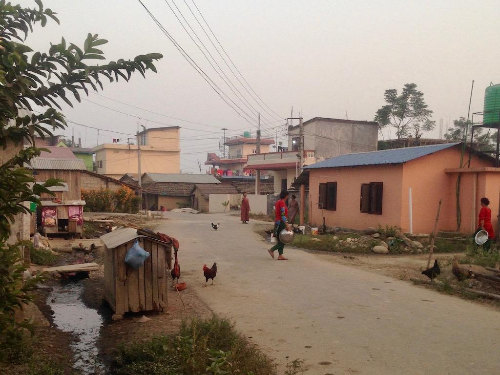 Community Homestay nahe Sauhara im Chitwan Nationalpark, Besuch im Tharu-Dorf