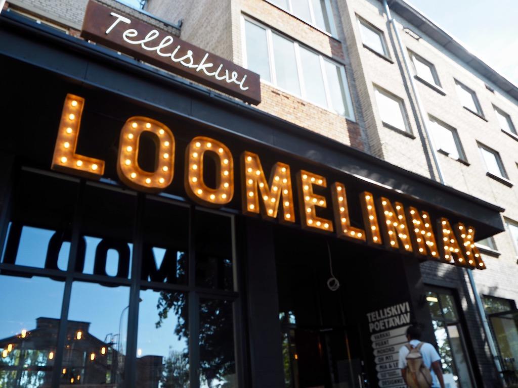 Hippe Läden auf dem Kreativcampus Telliskivi in Tallinn