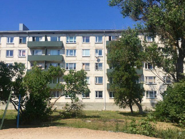 Paldiski: Viele Häuser sind noch immer unsaniert