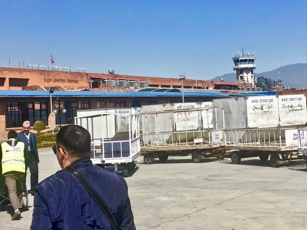 Tribhuvan International Airport, der Flughafen von Kathmandu