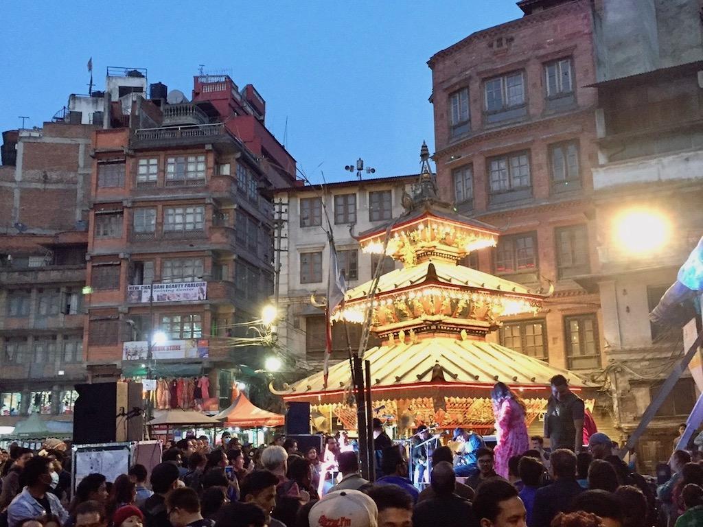 Tempel am Ason Bazaar, Kathmandu