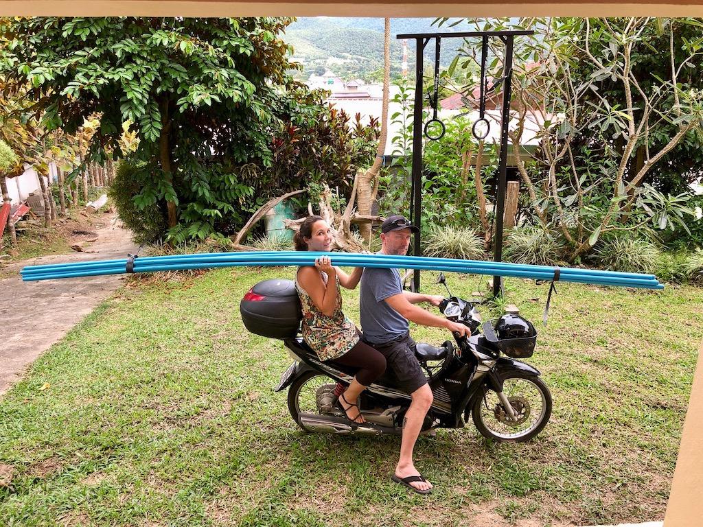 Leben in Thailand: Mit dem Motorrad von A nach B