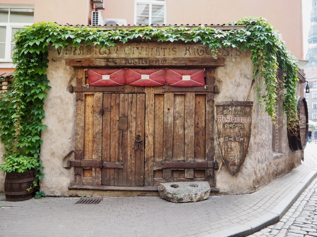 Riga Sehenswürdigkeiten: Essen im Rozengrals