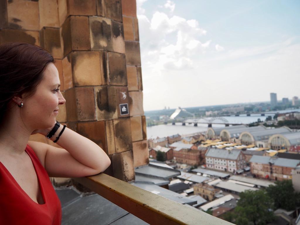 Riga Tipp Ausblick von der Akademie der Wissenschaften