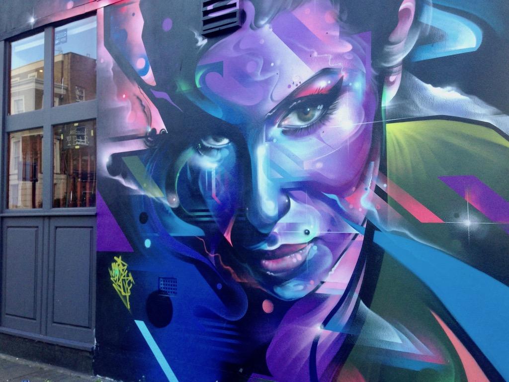 Amy Winehouse Graffity in der englischen Hauptstadt