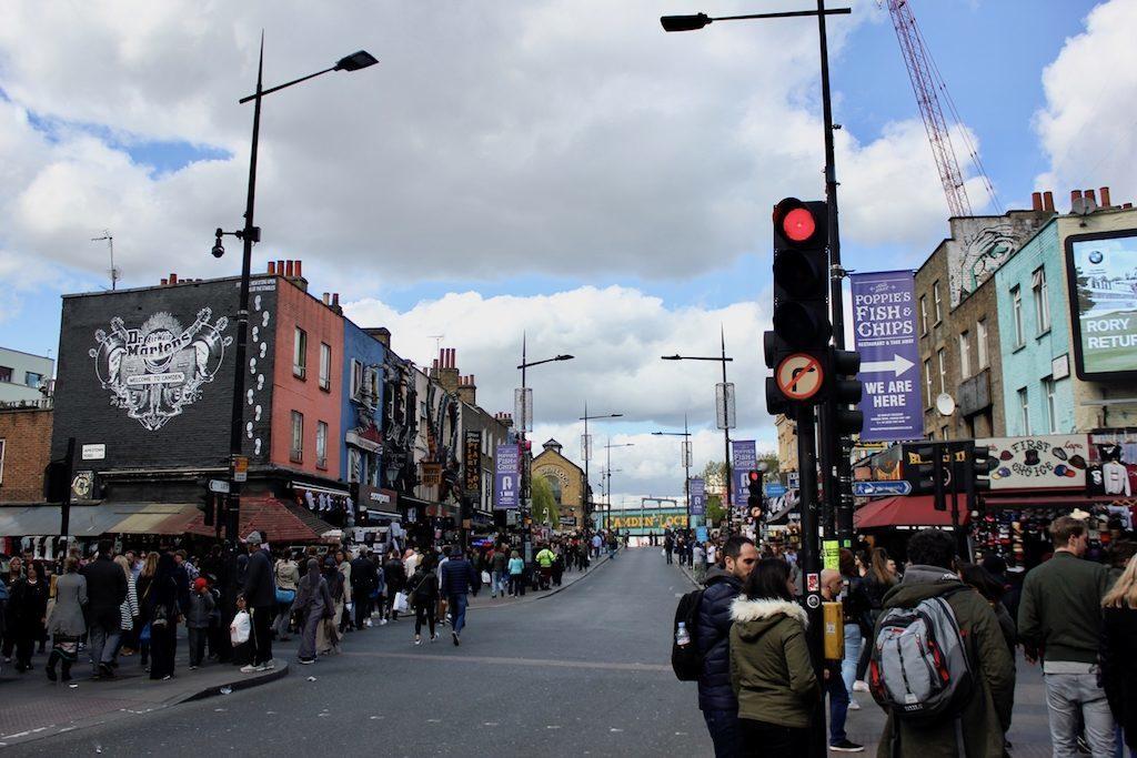 Unterwegs zum Camden Market in London