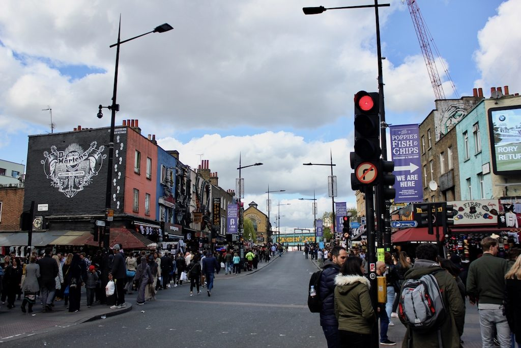 Unterwegs zum Camden Market in London