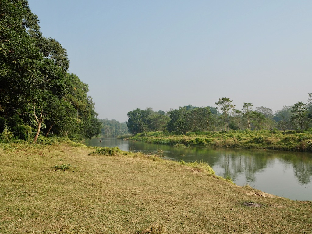 Landschaft Chitwan Nationalpark